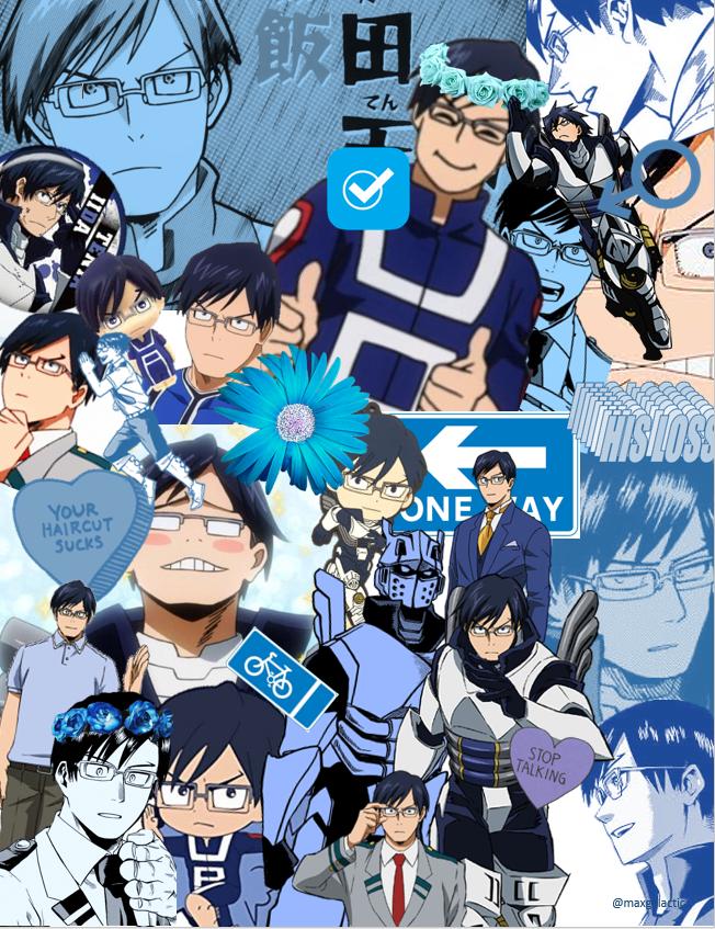 Tenya Iida Maxgalactic Hero Wallpaper My Hero Academia Shouto Iida