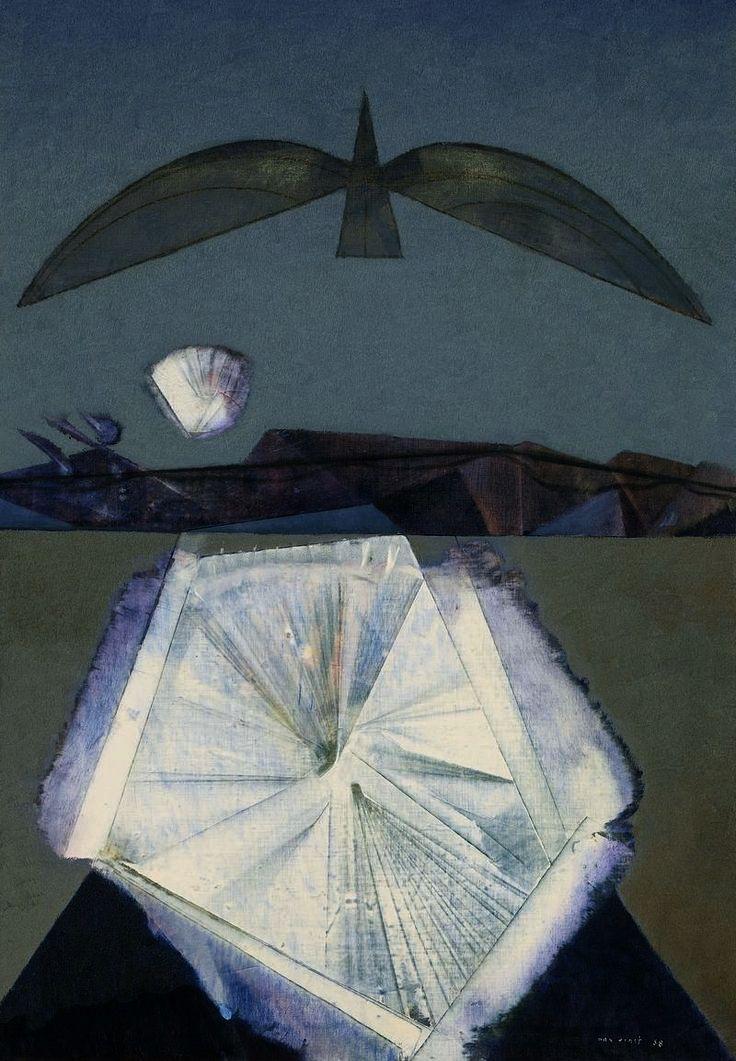 Max Ernst Apres Moi Le Sommeil 1958 Max Ernst Art Painting Illustration