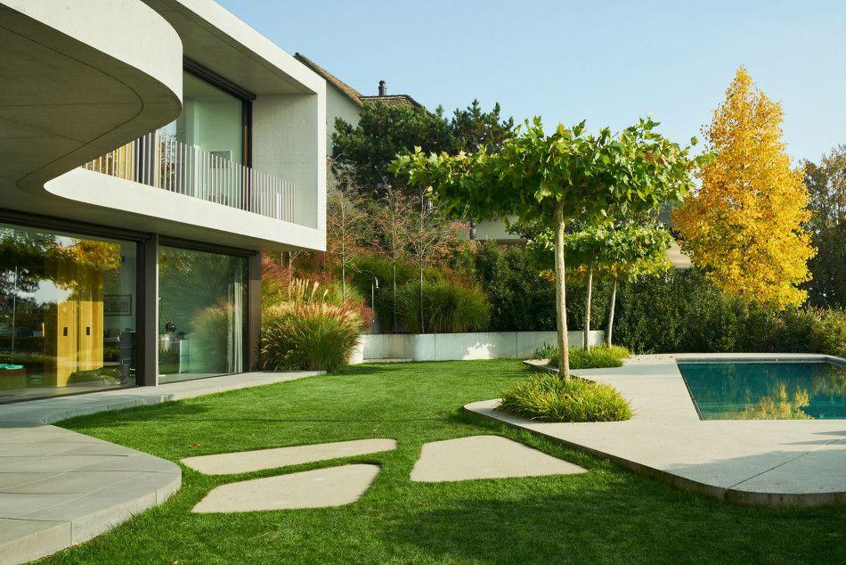 Pin Von Adrien Auf Garten Landschaftsarchitekt Architekt Garten Am Hang