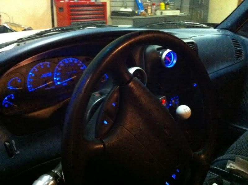 Led Custom Interior For Ford Ranger Ford Ranger Interior Ford