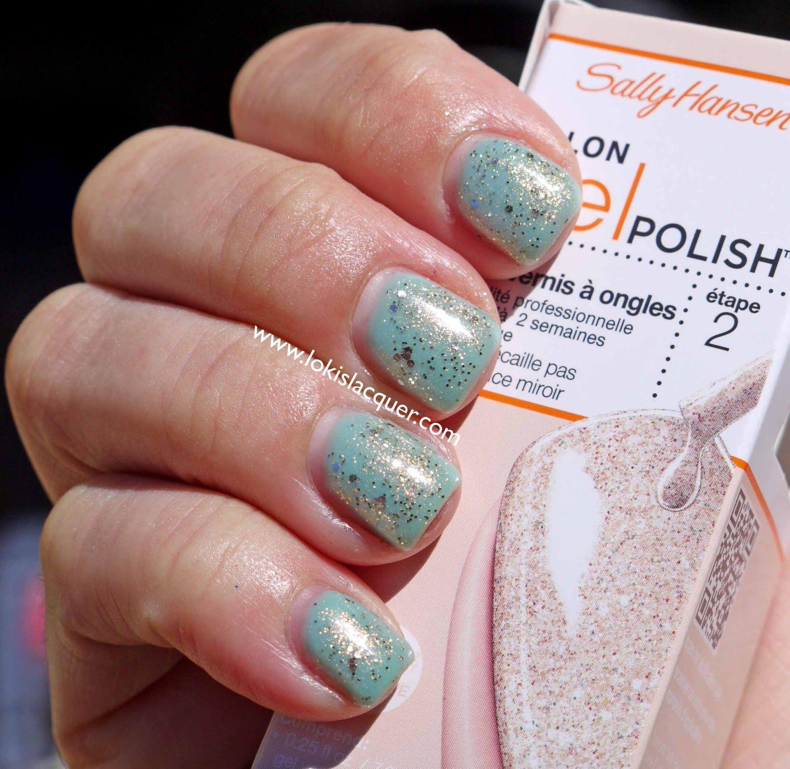 sally hansen 138 karat cake gel polish manicure trendy jesień 2020 odkleić płynną taśmę do paznokci