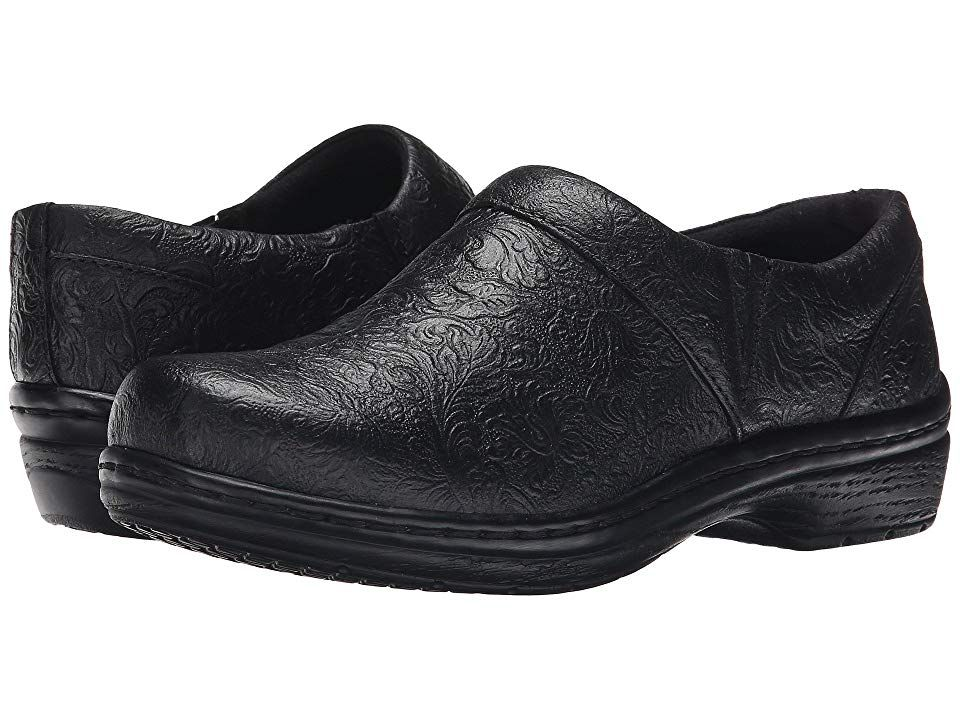 Klogs Footwear Mission Black Tooled Women S Clog Shoes Your