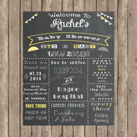 Best 25 Baby Shower Signs Ideas On Pinterest Baby
