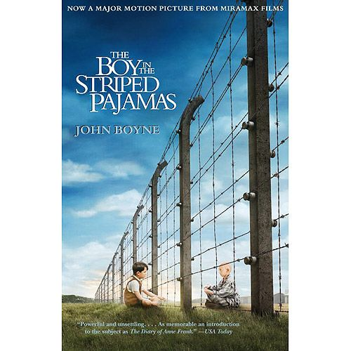 The Boy In The Striped Pajamas Movie Tie In Edition Paperback Walmart Com Striped Pyjamas John Boyne Boys