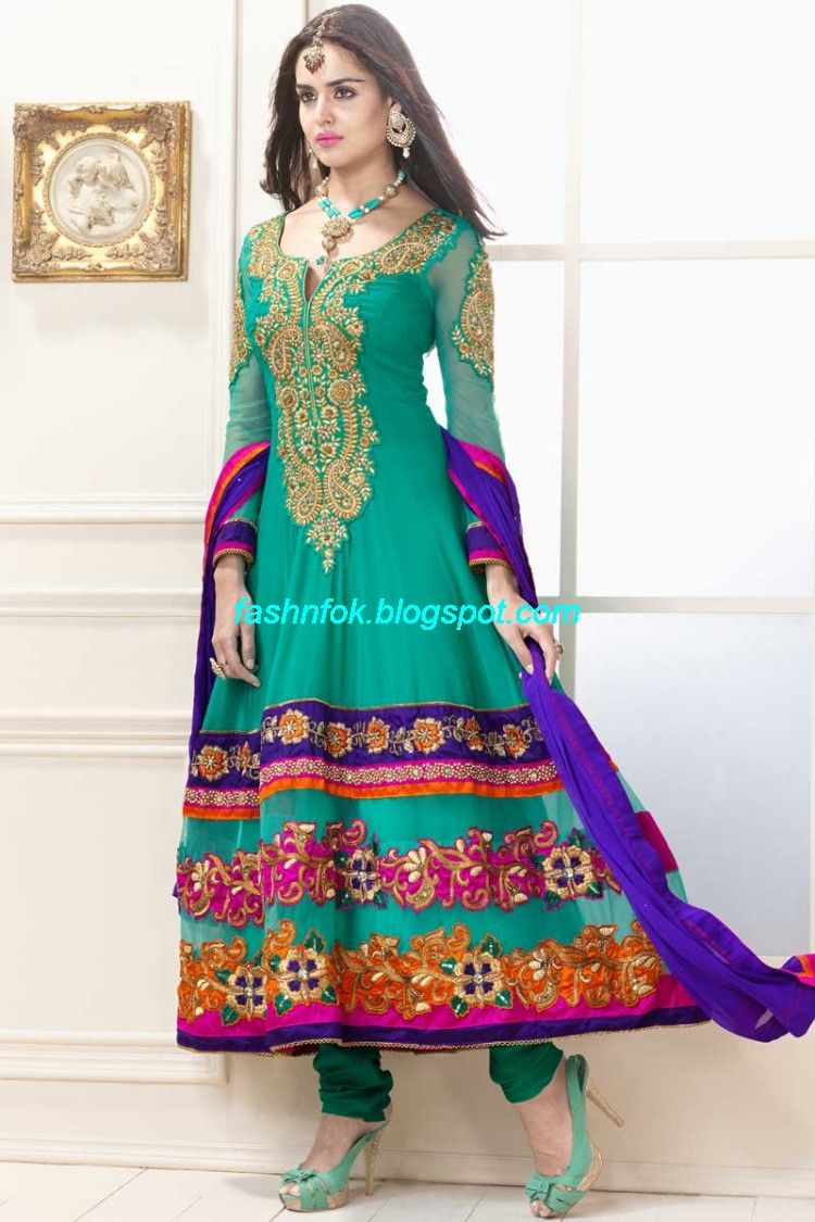 long dress indian style 45