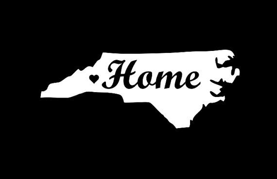 State Car Sticker Carolinas Sticker NC State Decal North Carolina Decal State Car Decal Carolina Decal NC Sticker Car Decal NC Decal