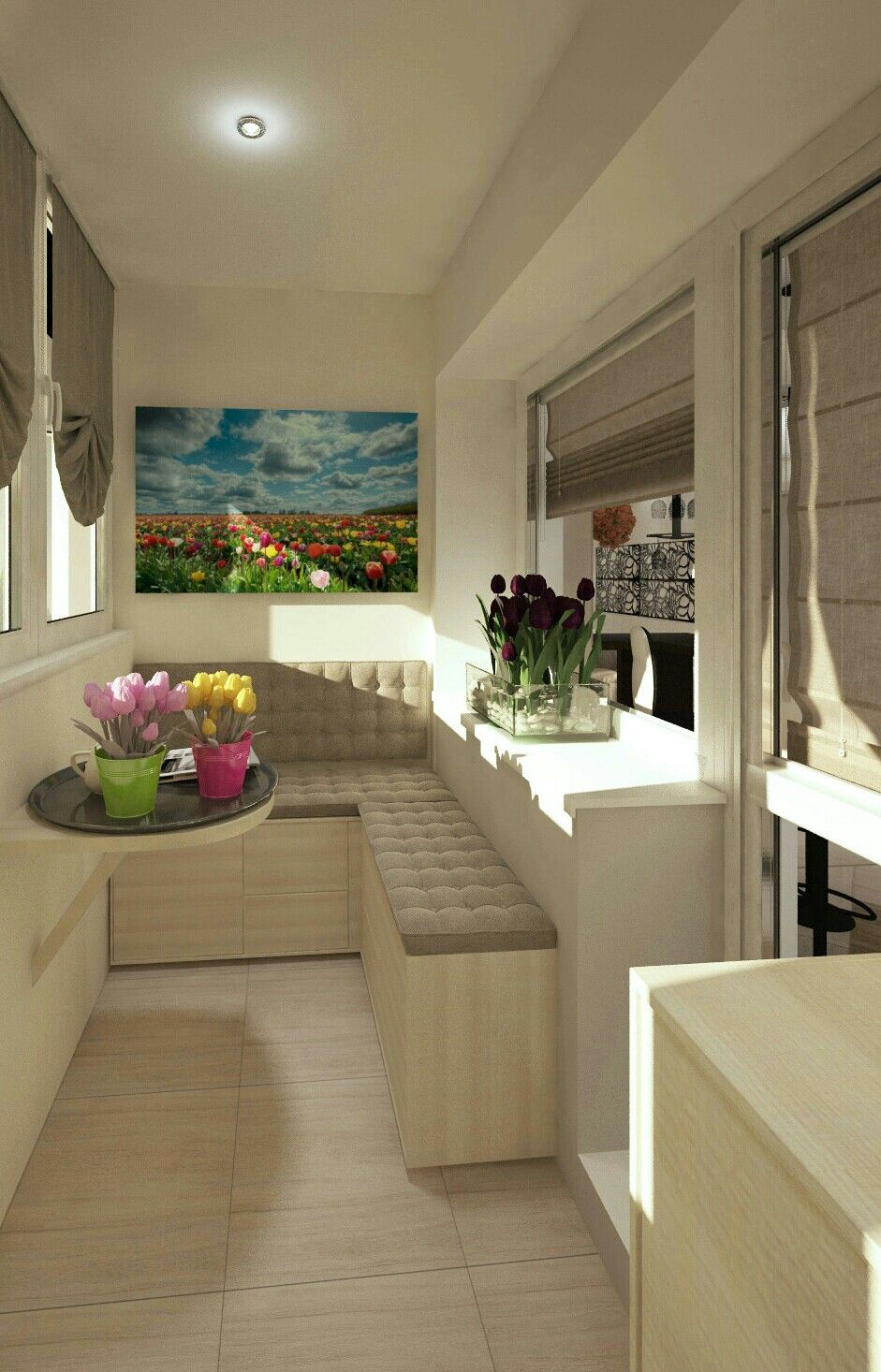 Interior Balcony Design