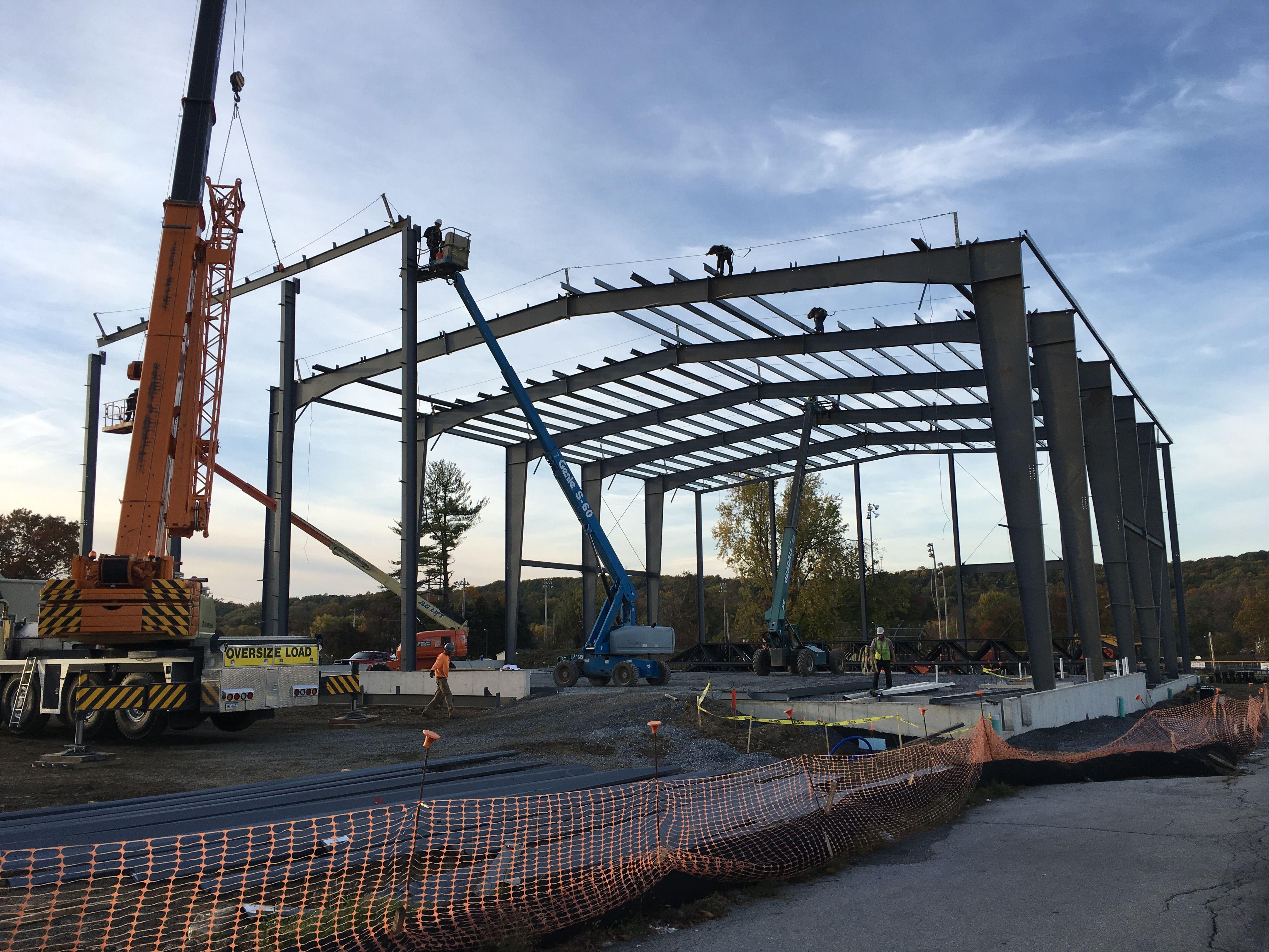 New Steel Building in