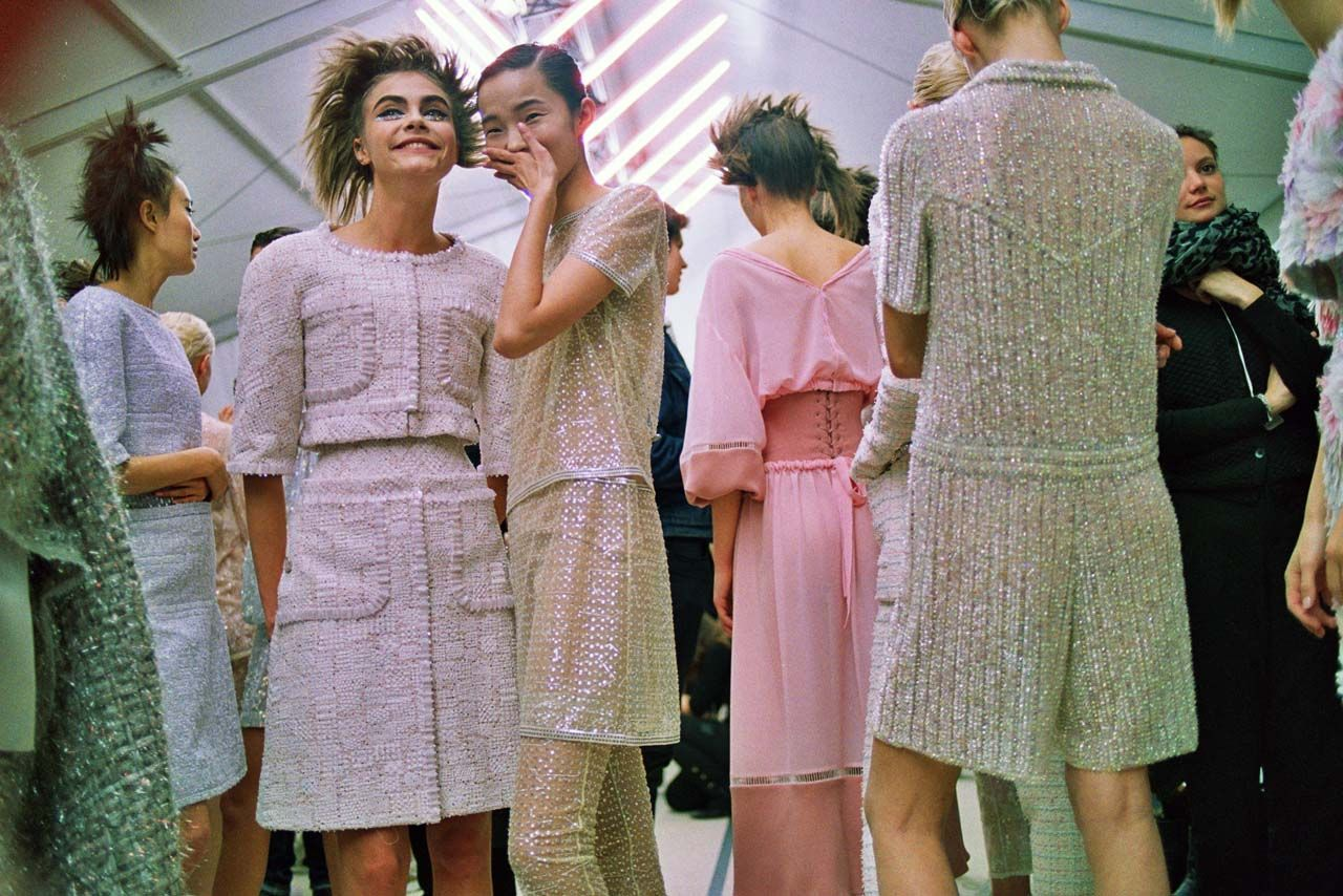 BACKSTAGE: CHANEL SPRING HAUTE COUTURE '14