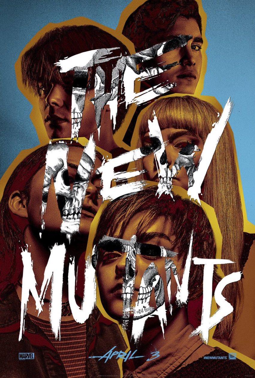 Os Novos Mutantes Ganha Poster Oficial Novos Mutantes Filmes Online Gratis Melhores Filmes