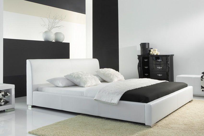 Polsterbett Lederbett Kunstleder Futonbett Bett Doppelbett