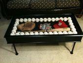 Photo of Baseballschläger Couchtisch #Erholungsraum #Erholungsraum #Kaffee #Tische, #Baseball # …