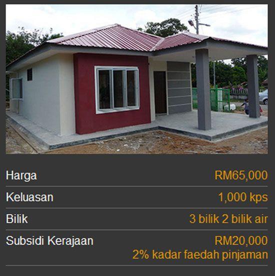 Kategori Rumah Mesra Rakyat 1malaysia Spnb Rumah Rakyat