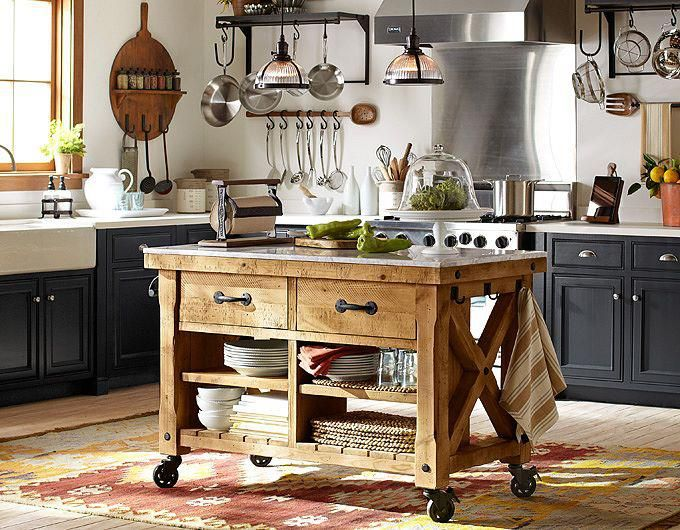 isla cocina943772_633884169972969_21901073_n Cocinas Pinterest - muebles para cocina de madera