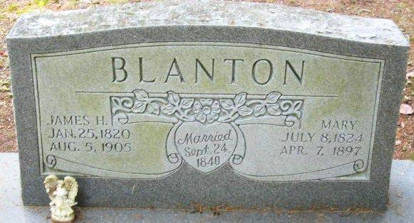 Mary Elizabeth Davis Blanton (1824 - 1897) - Find A Grave Photos