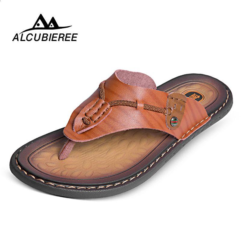 Alcubieree Meskie Obuwie Plazowe Meskie Lekkie Przeciwposlizgowe Klapki Na Zewnatrz Plaza Klapki Sandaly Letnie Duze Rozmiary Flip Flops Shoes Sandals