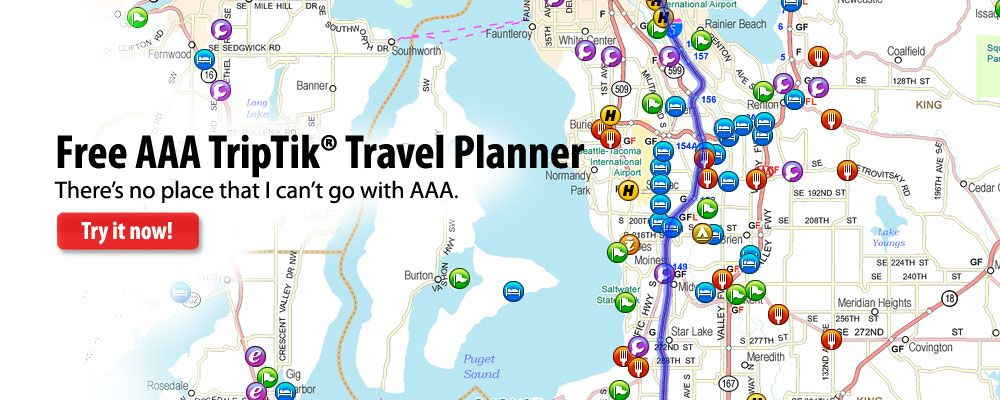 AAA TripTik Planner cheap gas