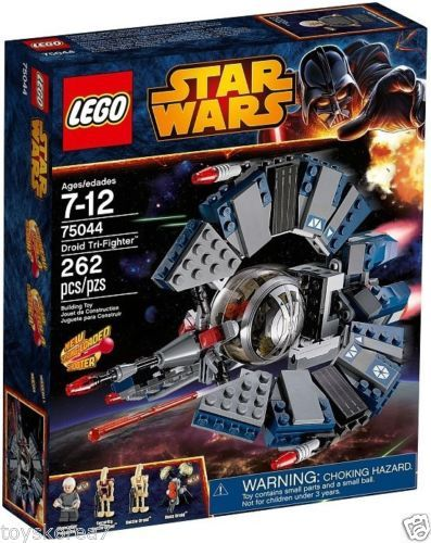 Lego Star Wars 75044 Droid Tri Fighter New Factory Sealed Lego