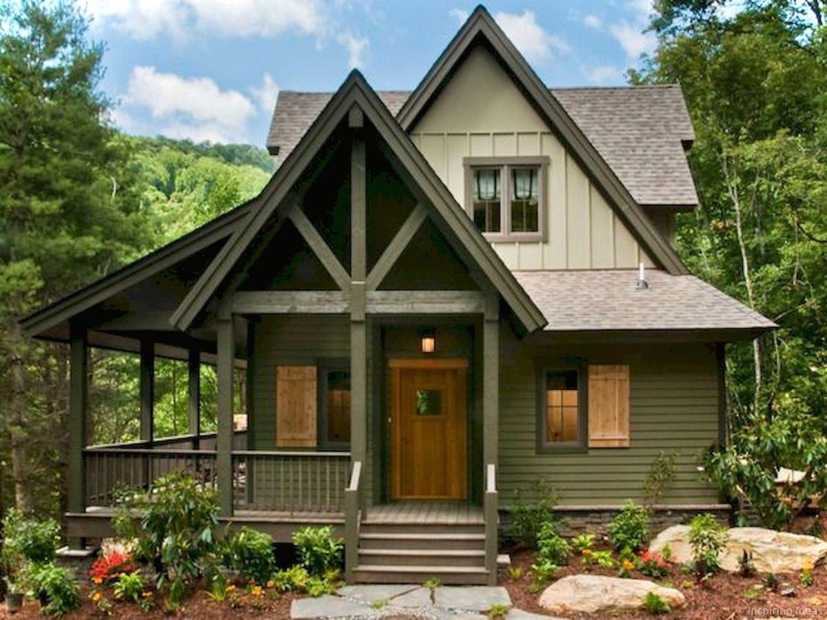 Awesome Cottage Exterior Colors Schemes Ideas003 Cottage