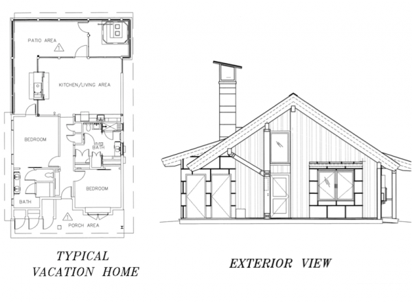 Dvc copper creek villas cabins details at disney 39 s for Copper creek homes floor plans