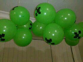 Minecraft globos