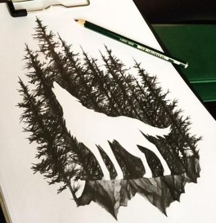 Photo of Super Tattoo Wolf Silhouette Wolves 67+ Ideas