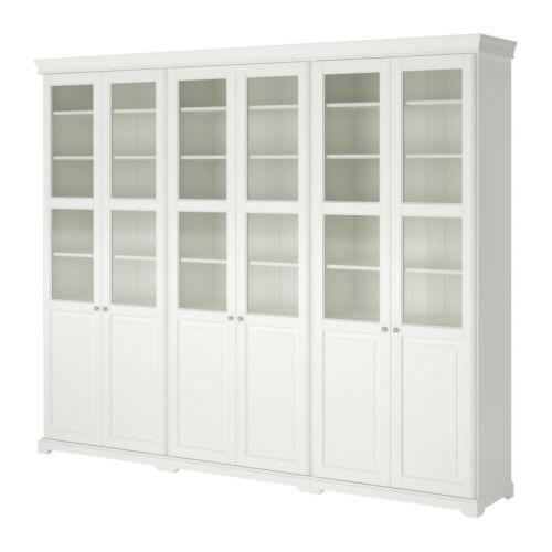 LIATORP Oppbevaring med dører   - IKEA kr 7535,-