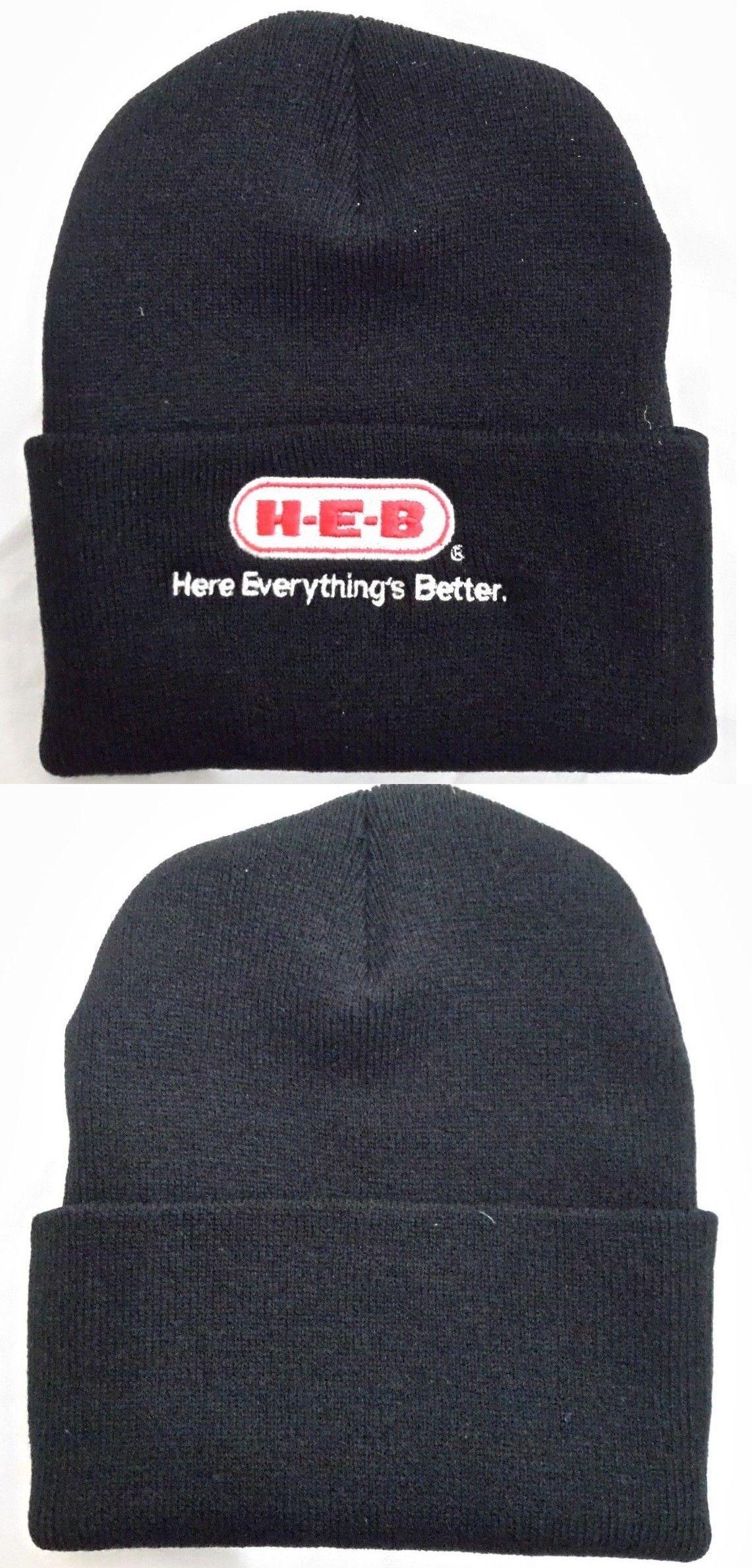 0ce98ec98 Hats 163526: H-E-B Black Knit Beanie Winter Hat Toque Skull Cap ...