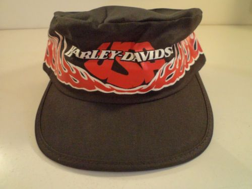 UNUSED vintage HARLEY DAVIDSON HAT PAINTERS biker MADE IN USA cap t shirt 5e7f8bce703