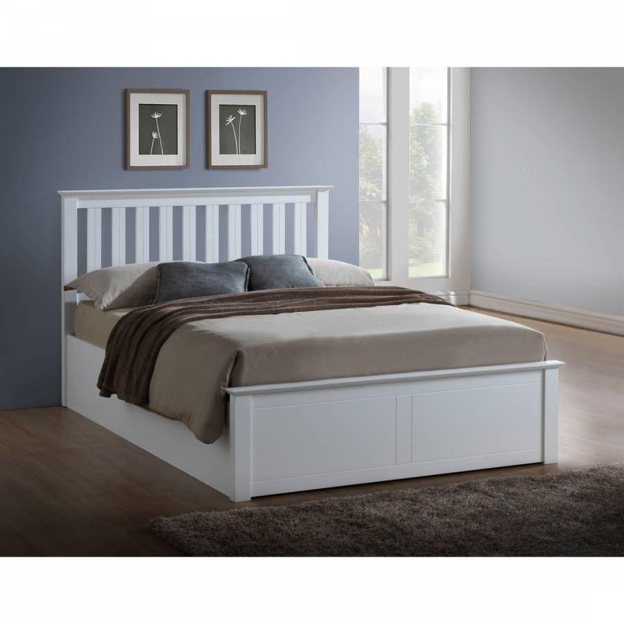 Birlea King Phoenix Ottoman Bed Frame White In 2019 Ottoman Bed
