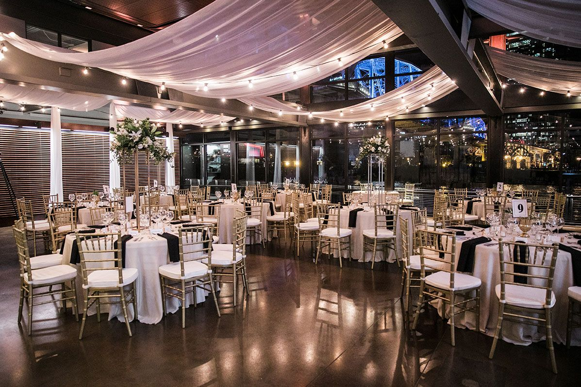 Glam Wedding Reception New Year's Eve Wedding at The