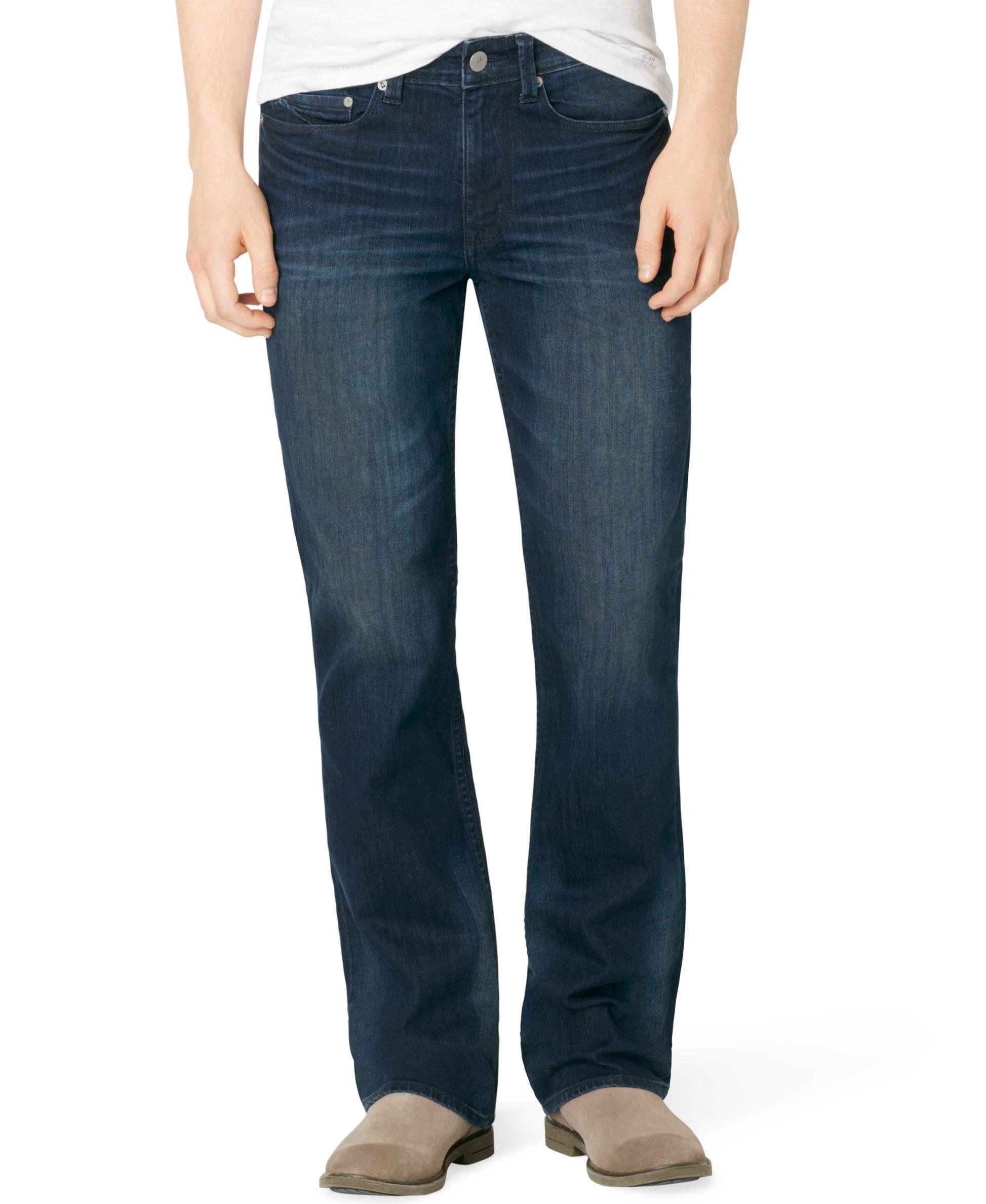Mens bootcut jeans, Calvin klein jeans