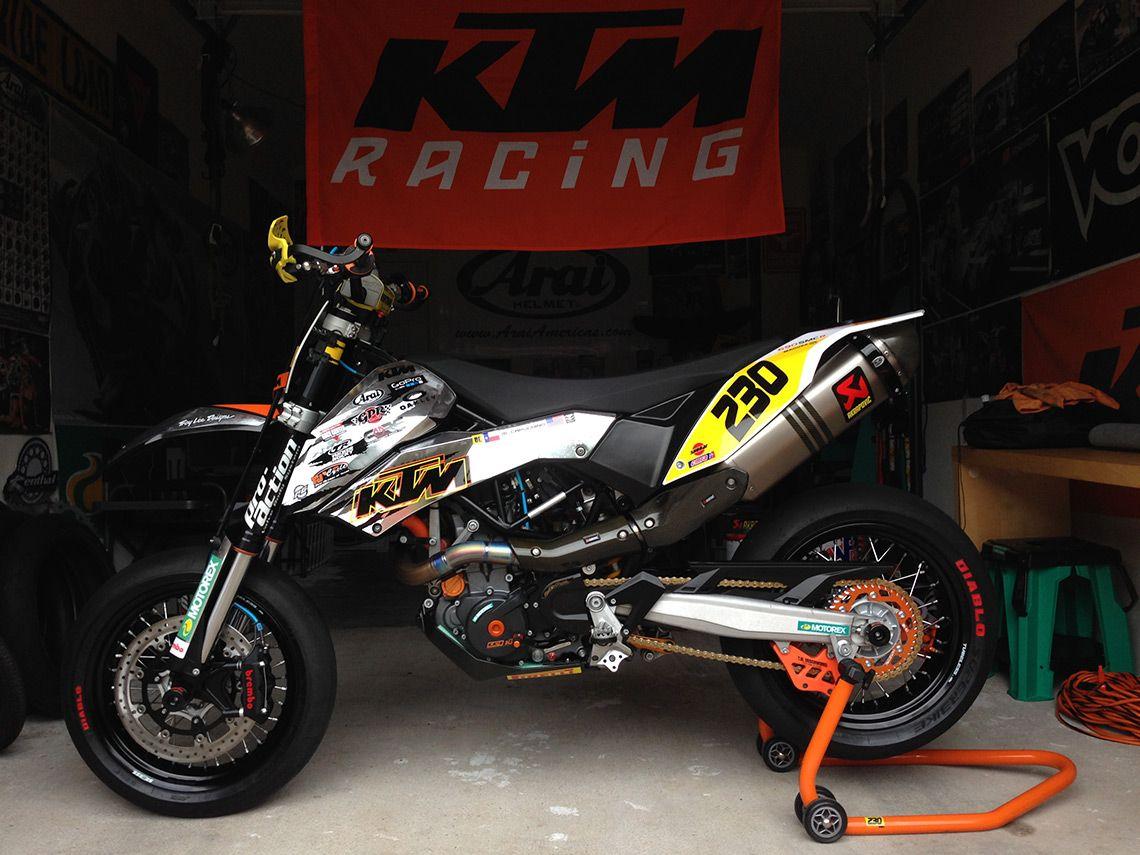 Supermoto ktm 690 stunt concept bikemotorcycletuned car tuning car - Custom Tuned Ktm 690 Smc Michael Capuchino