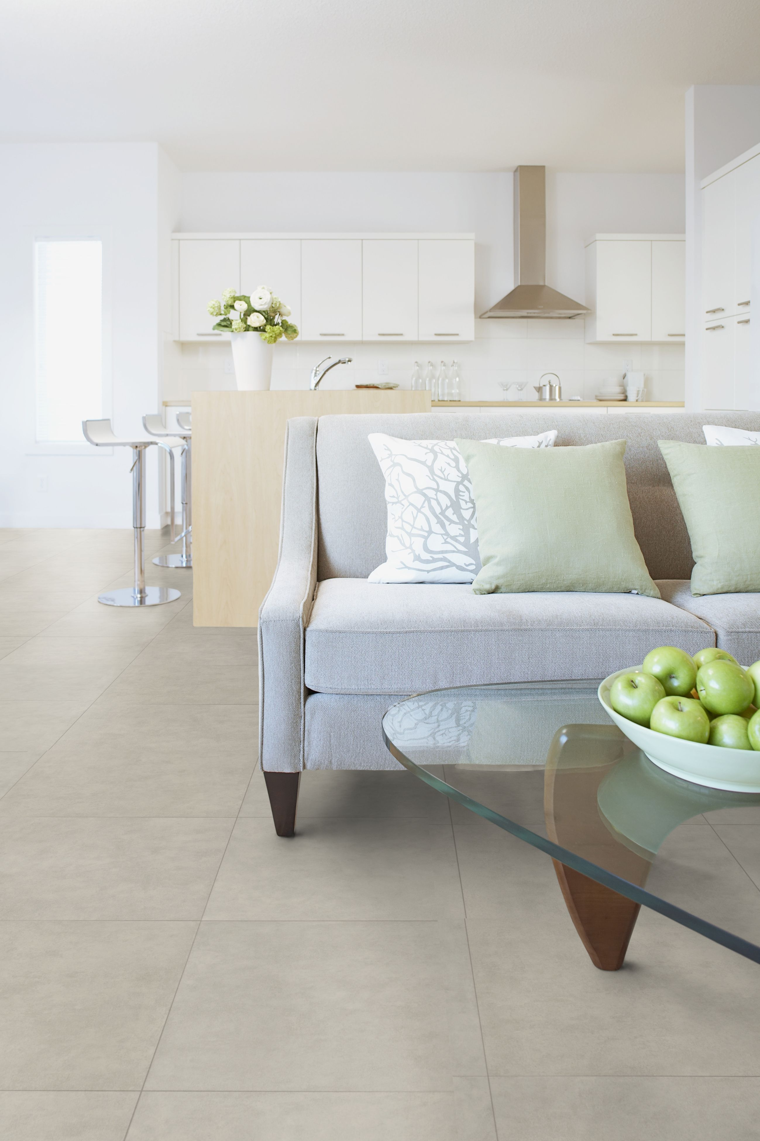 Living light grey home comfort by gerflor