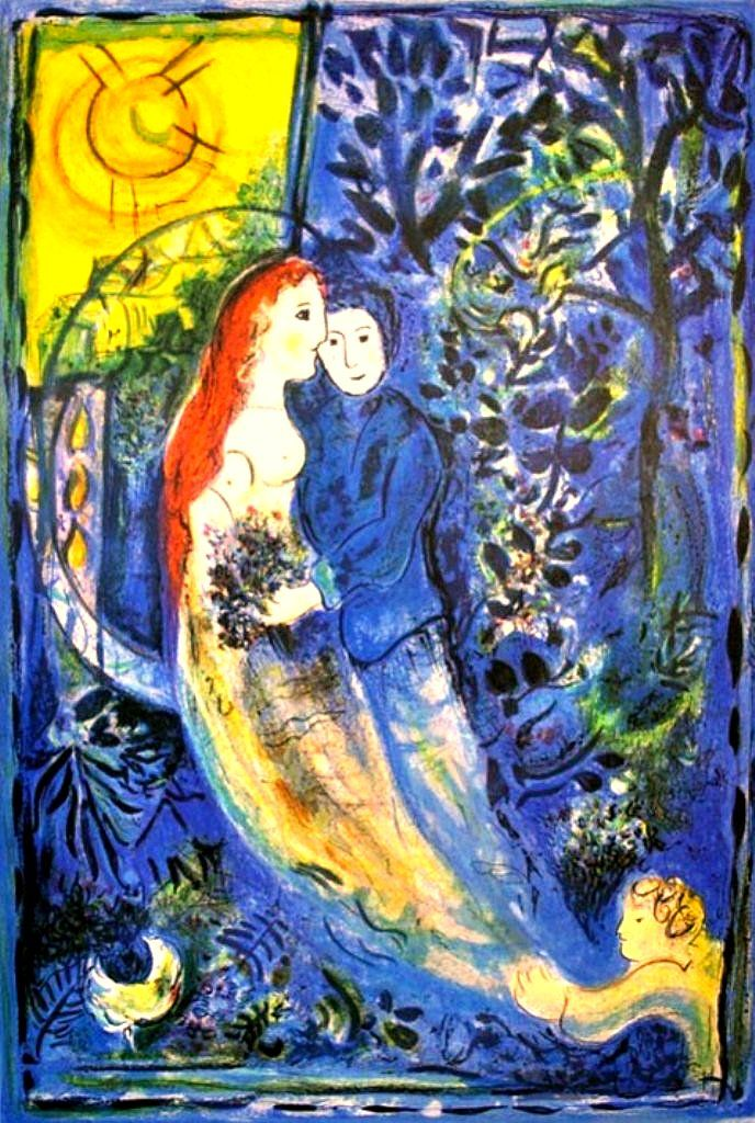 Marc Chagall Wedding Painting You