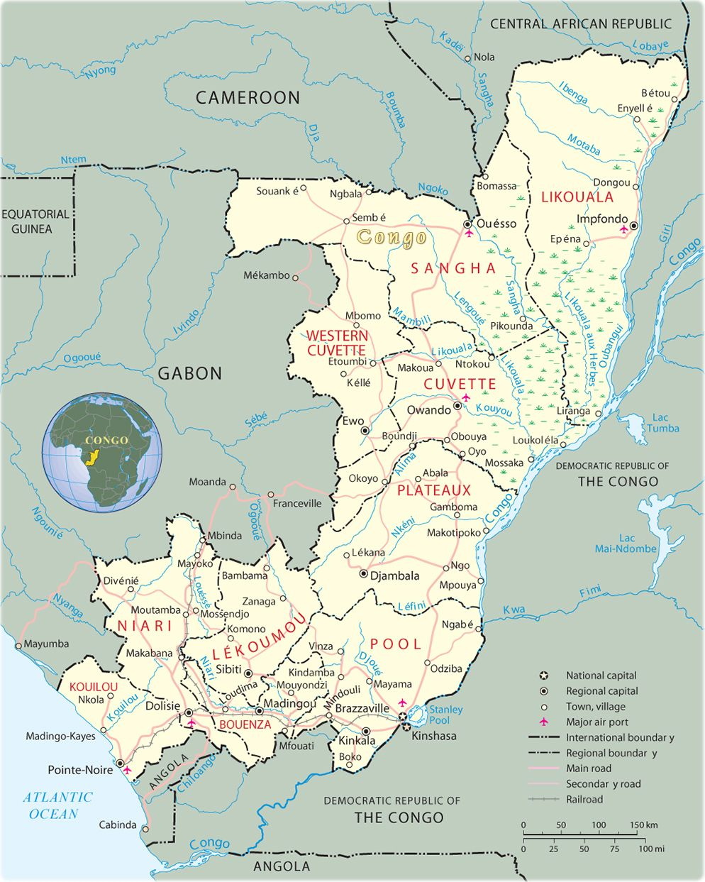 Congo On Africa Map.Pin By The Domingo Badia Trail On Embryo Maps Pinterest Congo