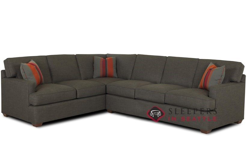 Savvy Lincoln True Sectional Queen Sleeper Sofa With Images Sectional Sleeper Sofa Best Sleeper Sofa Sectional Sofa