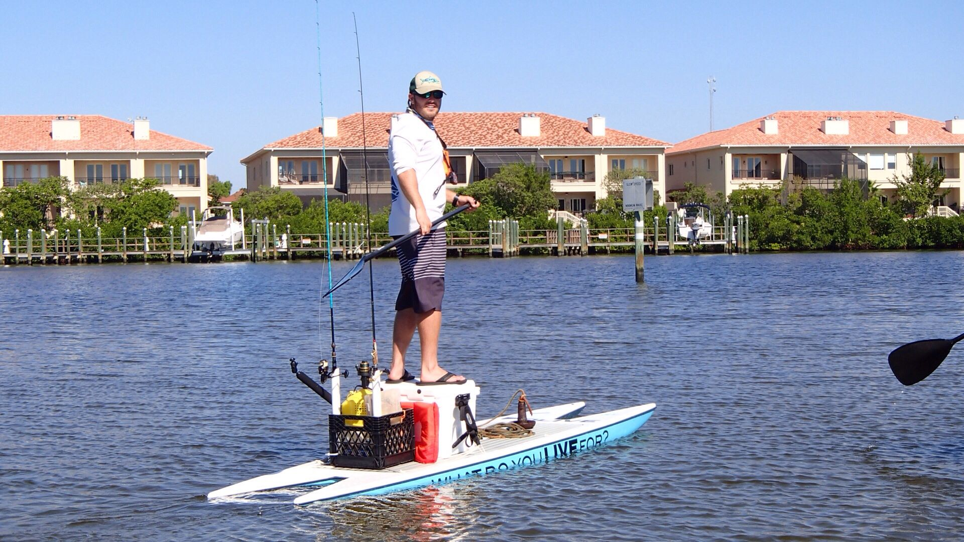 Live watersports new l2fish paddle board this thing is for Fishing paddle boards