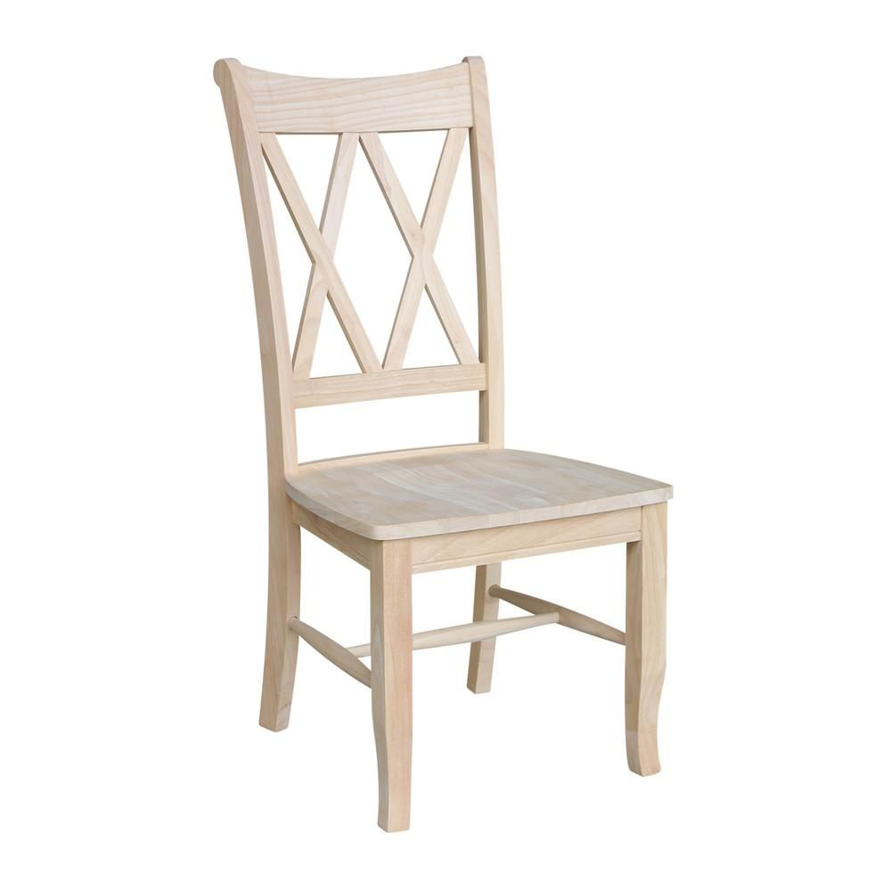 unfinished dining room chairs