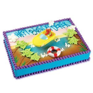 Sesame Street Elmo Boating Cake Decorating Kit You can find more