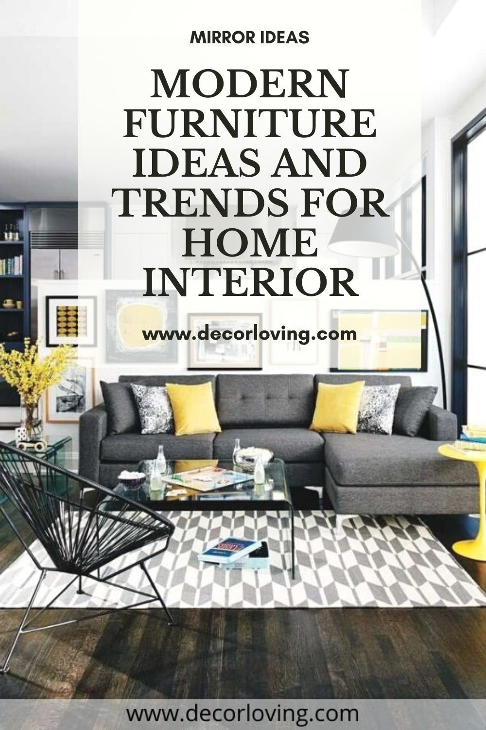 If you want to renovate or want to freshen up, you can achieve a lot with Modern Furniture. Even the smallest furniture can influence the overall atmosphere.  #ModernFurniture #HomeInterior #FurnitureIdeas #InteriorDesign #FurnitureDesign