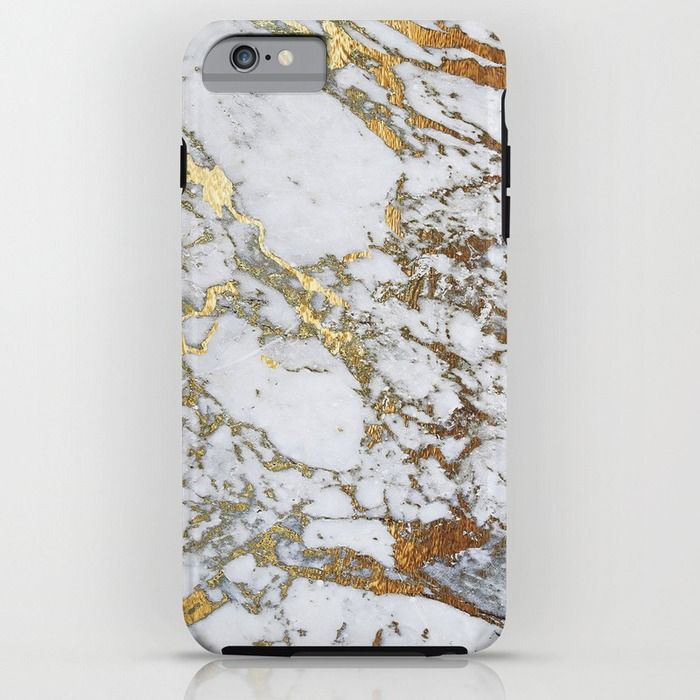 competitive price 41534 8ee8f My new case! Gold Marble iPhone 6 Plus case from Society6   iPhone ...
