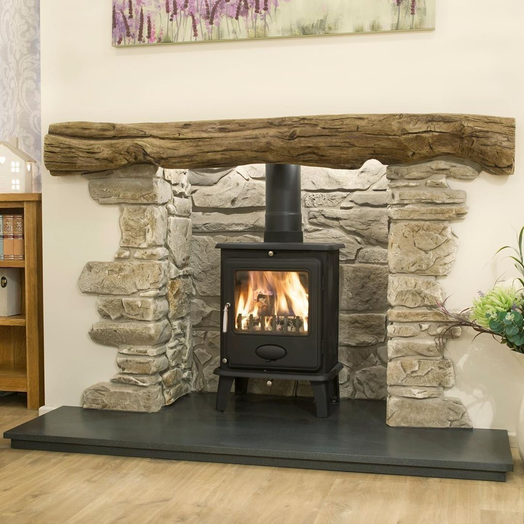 Country Style Stove Fireplaces From Britain S Heritage Countrystove Stoves Wo Brit In 2020 Wood Burner Fireplace Stone Fireplace Surround Log Burner Fireplace