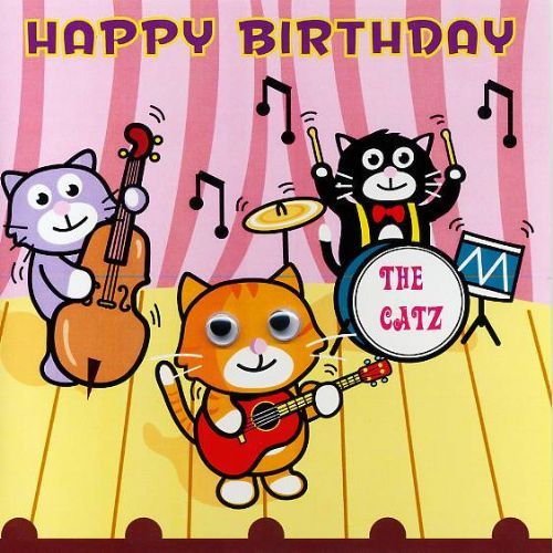 Musical Cats Free Singing Birthday Cards