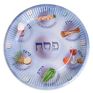 Amazon.com: Paper plates for Passover, Paper Seder Plates, Passvoer plates for kids: Kitchen & Dining