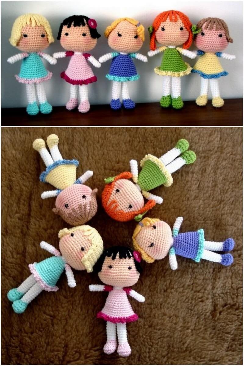 Doll was made by Ksusha Makeeva #crochetdoll, #handmadedoll ...   1199x800