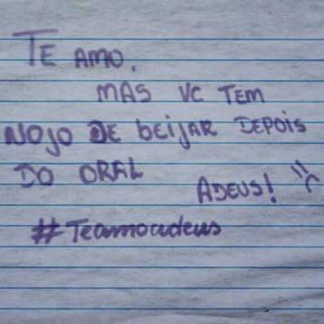 Perdeu! #teamoadeus #teamomasadeus #teamomas  *sugestão enviada por um seguidor <3  KKKKKKKKKKKKKKKKKKKKKKKKKKKKKKKKKKKKKK