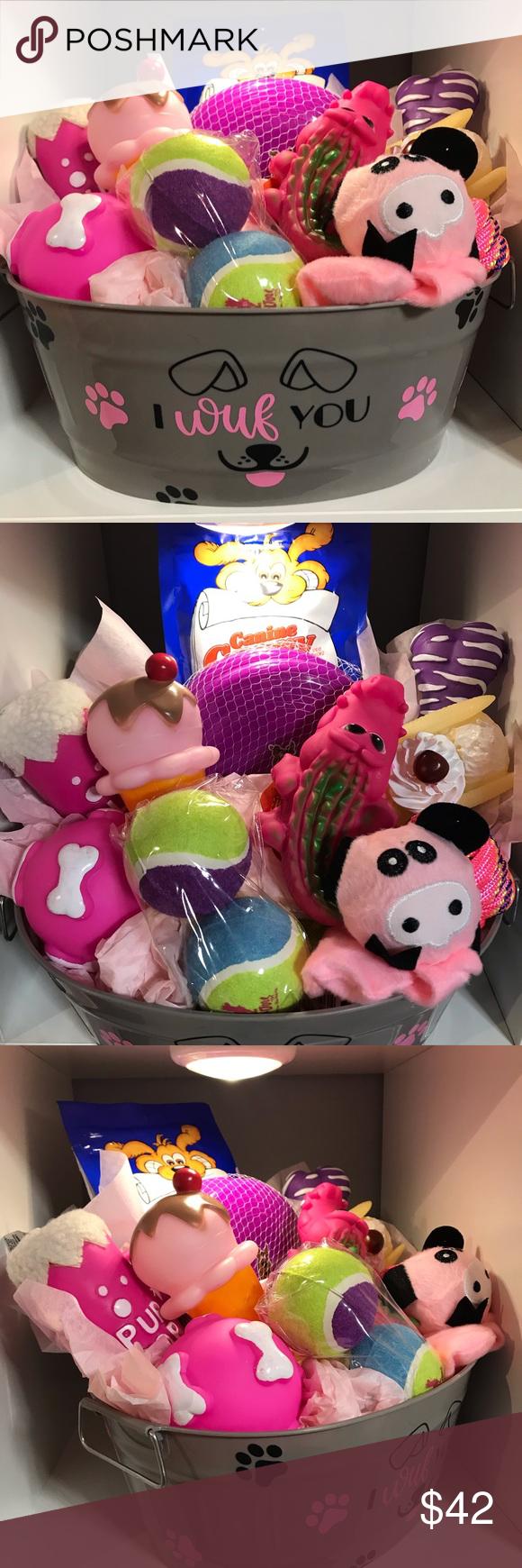 🐾🎄Super Adorable Dog 🐶 Gift Basket 🐾🎄 Spoil ur ur pets this holid...  #adorable #basket #dog #gift #holid #Pets #Spoil #Super