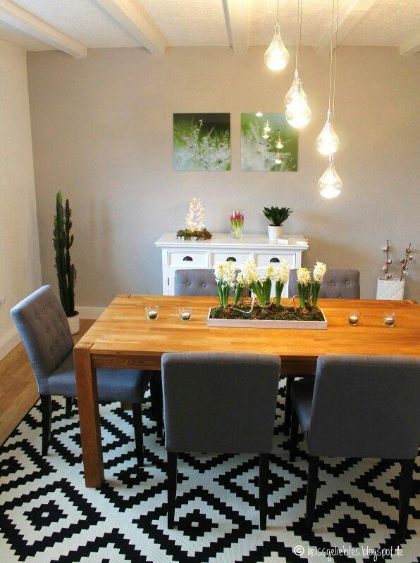 www.heissgeliebtes.blogspot.de esszimmer * interior * dining room, Esstisch ideennn