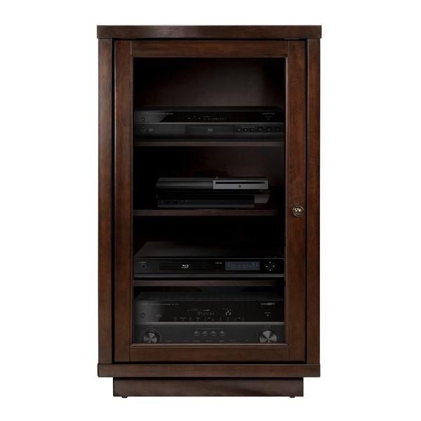 Bell'O ATC402 Dark Espresso Audio Video Component Cabinet